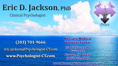Marriage Counseling in Milford CT with Eric D. Jackson PhD
